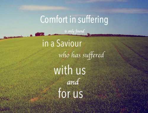 Comfort in Suffering